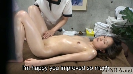japanese aoyama special massage session for lesbian women