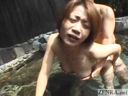 sex from behind maki tomoda at bathhouse