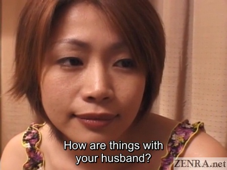 young japanese wife talks about cheating