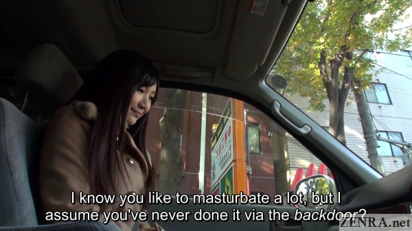 masturbation car ride talk with hoshikawa maki