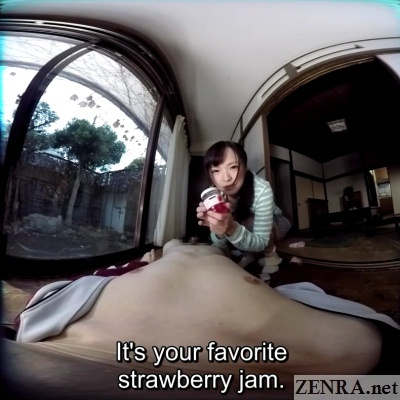 yukari miyazawa holds strawberry jam