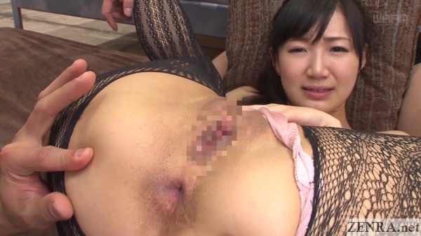 extremely exposed spread eagle maki hoshikawa