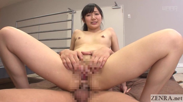 spread pussy japanese reverse cowgirl anal sex