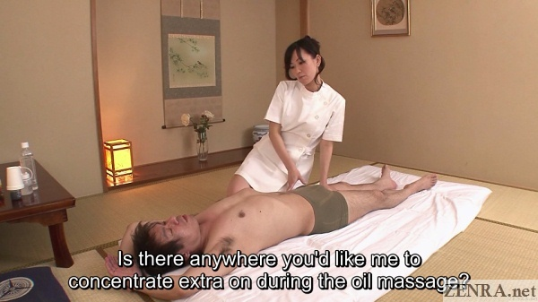 supine client massaged by manami komukai