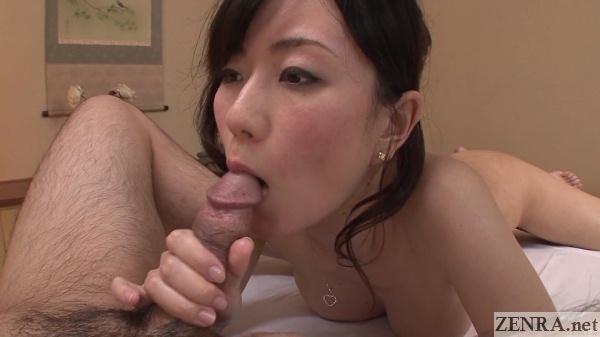 no mosaic blowjob by masseuse manami komukai