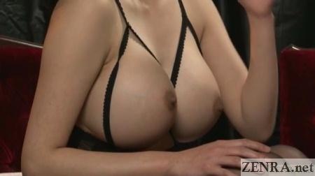 close up anna okina gargantuan breasts
