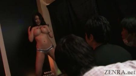 anna okina strip show