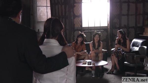 japanese panpan girls welcome new recruit