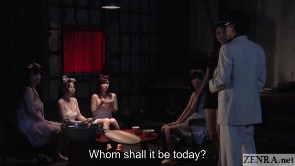 customer visits secret illegal brothel in postwar japan