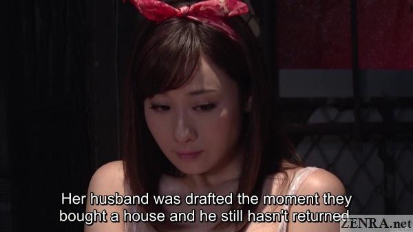 yuu kawakami married but missing husband becomes a prostitute in postwar japan