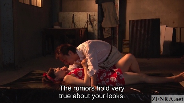 yuu kawakami lies with new customer