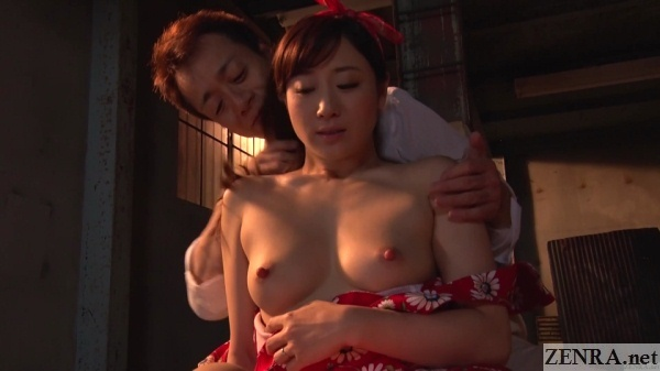 exposed topless kawakami yuu late afternoon