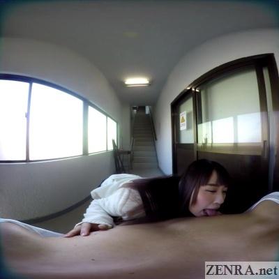 yura kokona licks your nipples vr