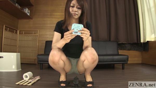japanese amateur sets timer