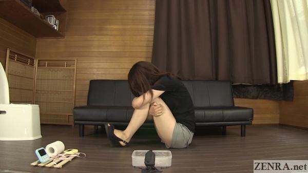 real japanese pee desperation reaction