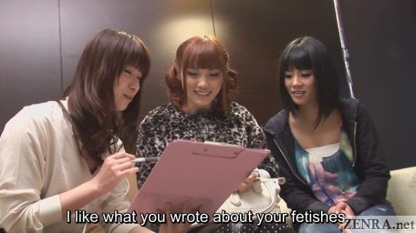 uta kohaku and tsubaki katou with new lesbian friend