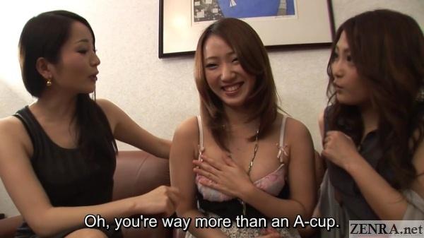japanese av stars with new female friend