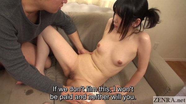 cmnf pale naked japanese assistant director quickly becomes av star