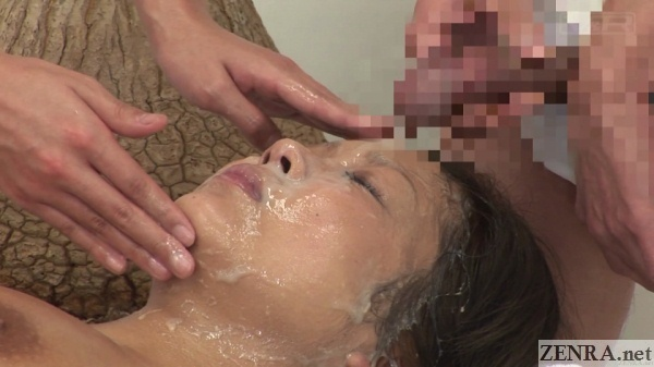 japanese bukkake facial clinic special course