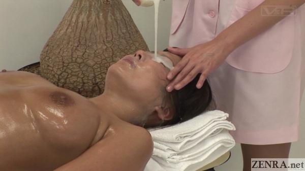 semen facial masque eye treatment