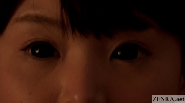 the wide eyed woman nagomi