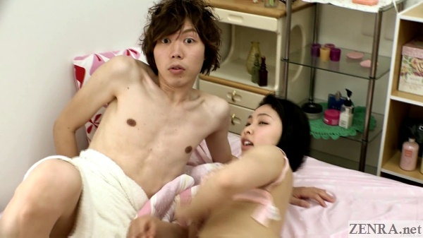 cheating japanese boyfriend caught