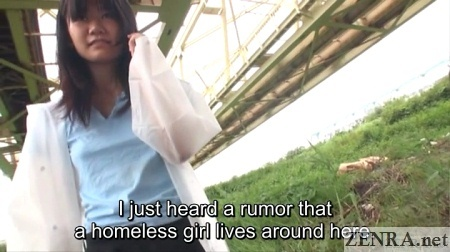 discovery of a homeless japanese woman