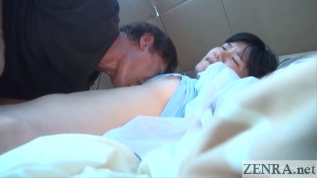 homeless yuuko fingered and nipples licked