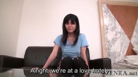 love hotel arrival with homeless yuuko