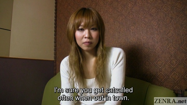 real japanese amateur asked about catcalling