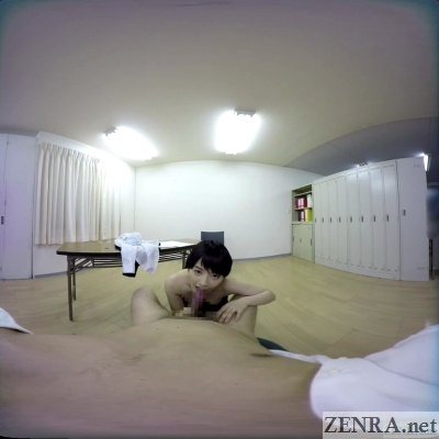pov vr office lady blowjob in japan