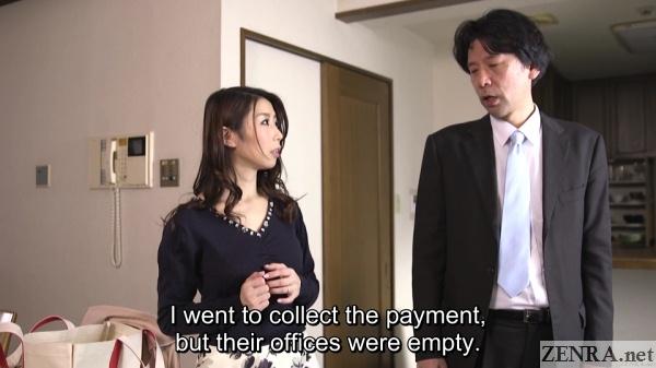 japanese wife ayumi shinoda with distraught husband