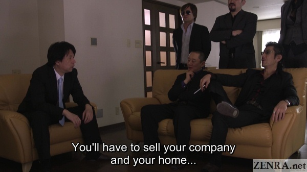 yakuza offer debt payback advice