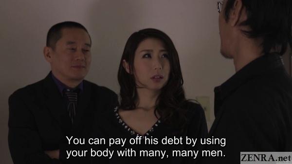 yakuza present ayumi shinoda with salacious job offer