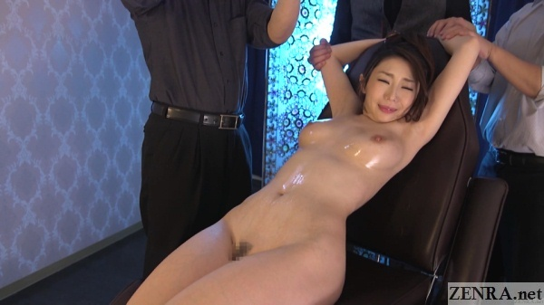 enf cmnf japanese lewd oil massage