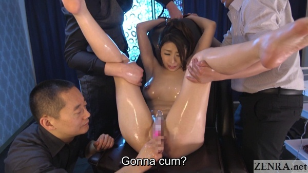 cmnf enf japanese yakuza oil massage for married woman