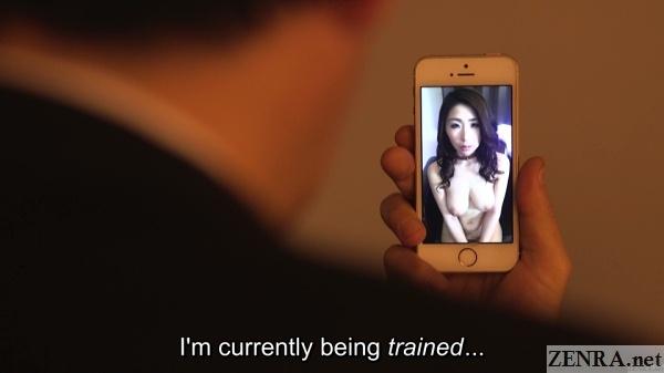 shinoda ayumi training phone video