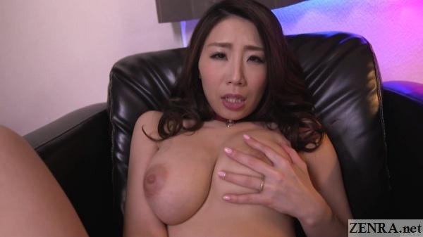 upper bust shot masturbating ayumi shinoda