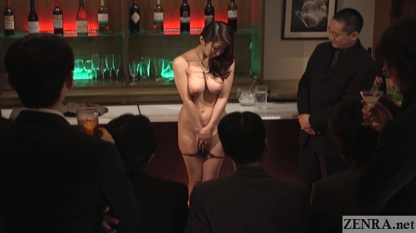 japanese enf cmnf wife strips naked for auction