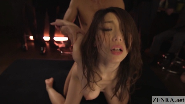 big breasts swaying shinoda ayumi sex from behind