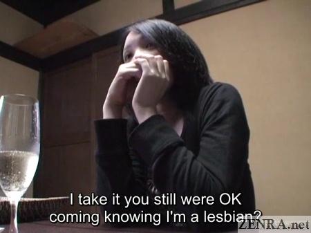 japanese ryokan talk with curious japanese lesbian
