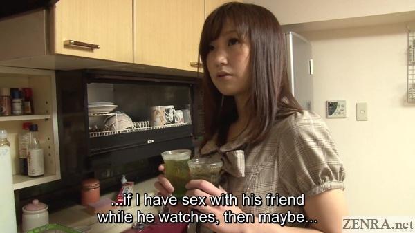japanese kitchen mitsu satou making drinks