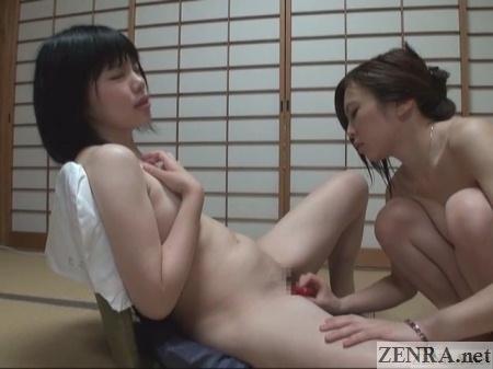 japan lesbian sex toy experimentation