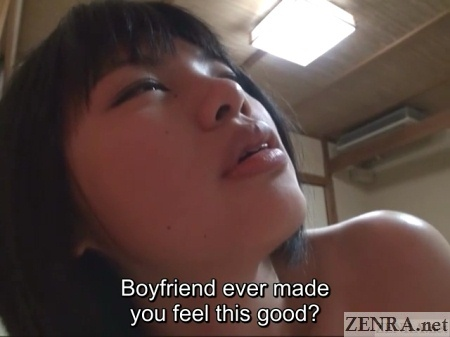 close up new japanese lesbian finds happiness