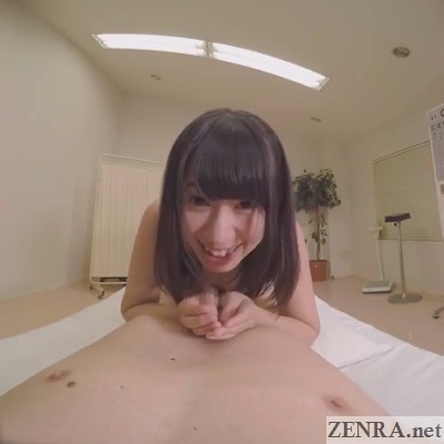 elated yuzu serizawa cum on hands vr