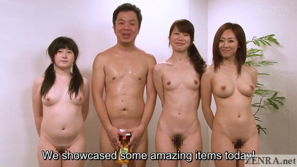 crazy weird japanese naked tv show