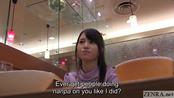japanese nanpa leads to impromptu restaurant date