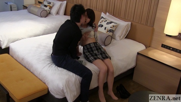 foreplay begins in japanese love hotel