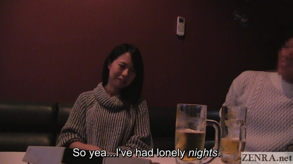 japanese couple at karaoke