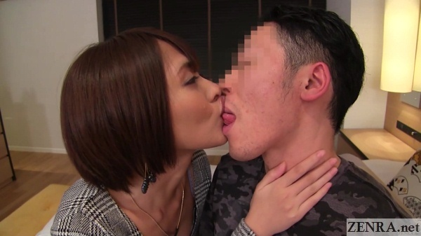 natsume yuuki kisses amateur man